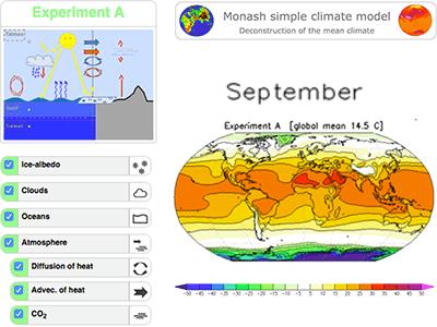 Monash Simple Climate Model