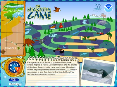 NOAA Games - Planet Arcade - Whale Migration
