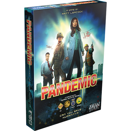 Pandemic Board Game - box