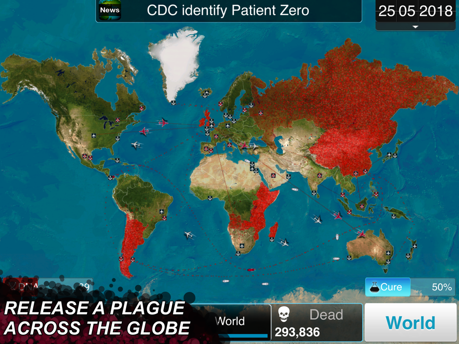 Plague Inc. Map