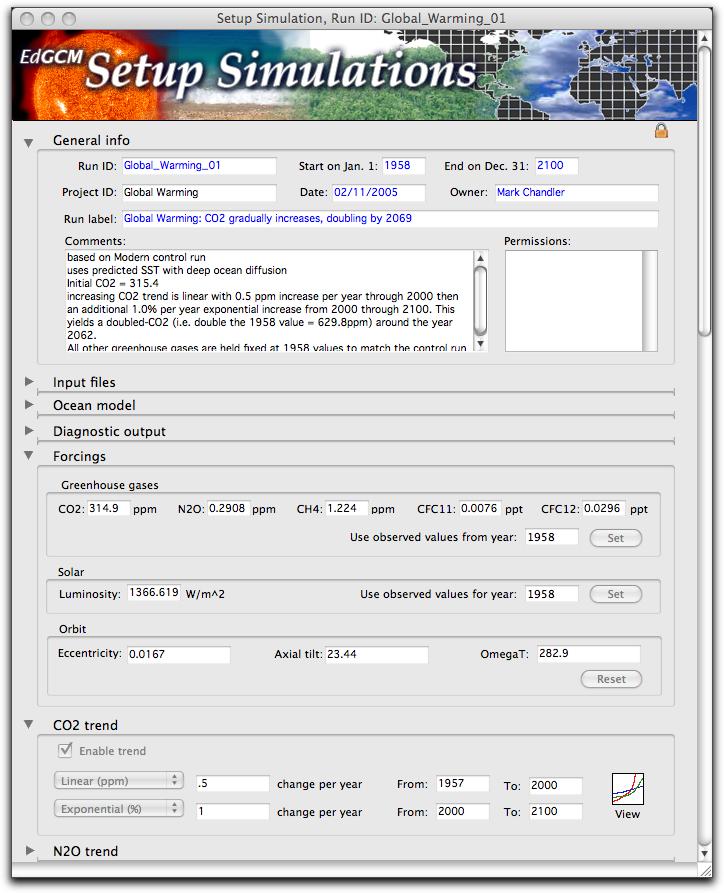 EdGCM Setup screenshot