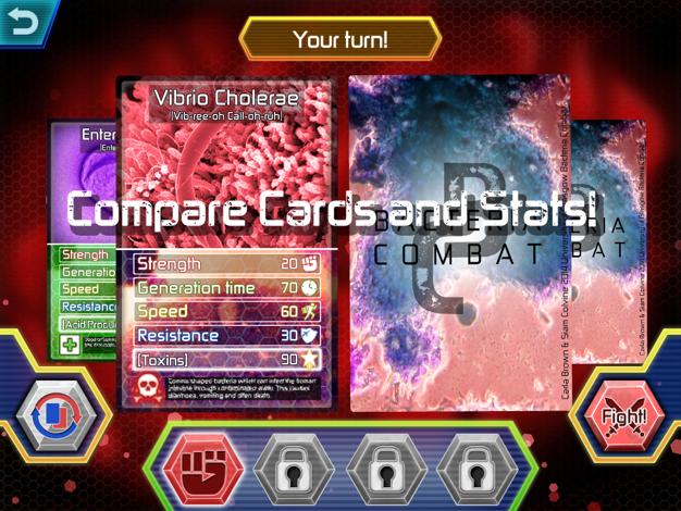 Game Doctor - Bacteria Combat game - screenshot