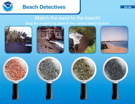NOAA SEA games - Beach Detectives