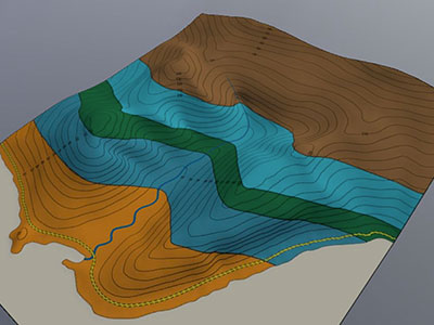Virtual Landscapes - University of Leeds - 3D Geological Mapping