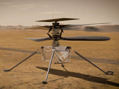 Mars Helicopter Lesson Plan