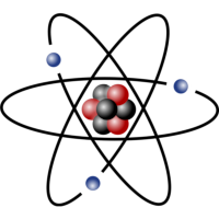 Atom - solar system model