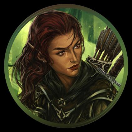 Callista, elvish fighter-wizard